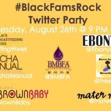 BlackFamsRock tweetchat promo